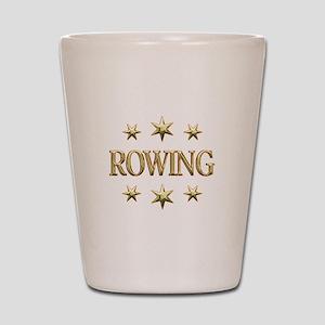 Rowing Stars Shot Glass