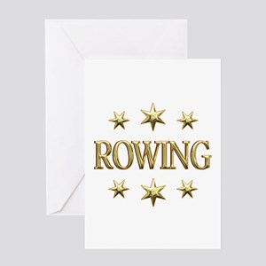 Rowing Stars Greeting Card