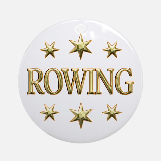 Rowing Stars Ornament (Round)