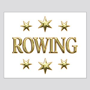 Rowing Stars Small Poster