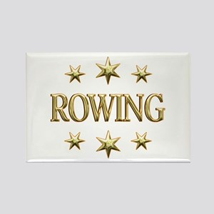 Rowing Stars Rectangle Magnet