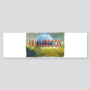 armageddon Sticker (Bumper)