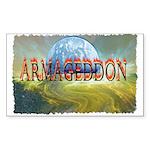 armageddon Sticker (Rectangle)