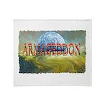 armageddon Throw Blanket