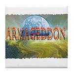 armageddon Tile Coaster