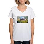 armageddon Women's V-Neck T-Shirt
