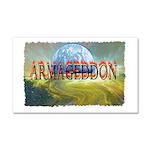 armageddon Car Magnet 20 x 12