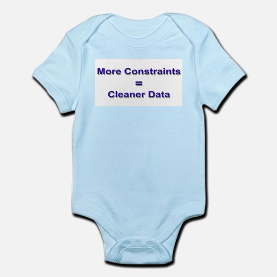 """""""Keep Your Data Clean"""" Infant Creeper"""