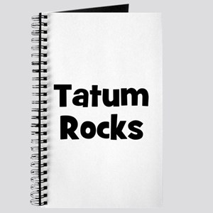 Tatum Rocks Journal