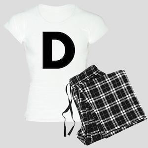 Letter D Women's Light Pajamas