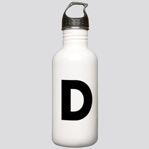 Letter D Stainless Water Bottle 1.0L