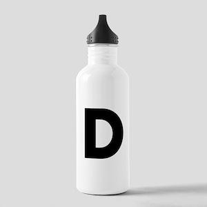 Letter D Stainless Water Bottle 1.0L