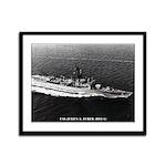 USS JULIUS A. FURER Framed Panel Print