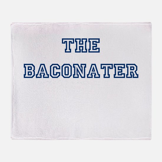 The Baconater Throw Blanket