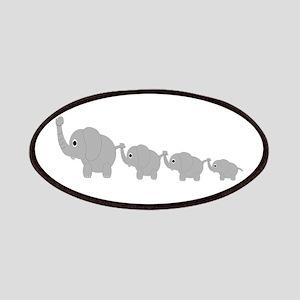 Elephants Design Patches