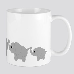 Elephants Design Mug