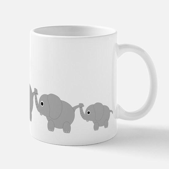 Elephants Design Mug
