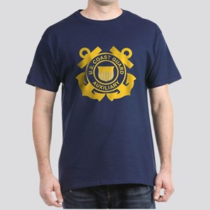 Coast Guard Auxiliary Dark T-Shirt 1