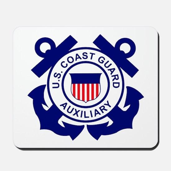Coast Guard Auxiliary<BR> Mousepad