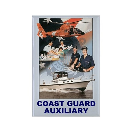 Coast Guard Auxiliary<BR> Vertical Magnet