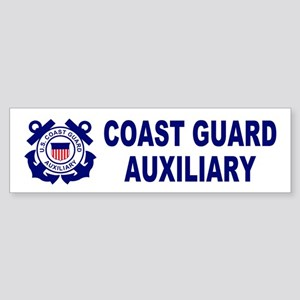 Coast Guard Auxiliary<BR> Bumpersticker