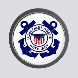 Coast Guard Auxiliary<BR> Wall Clock