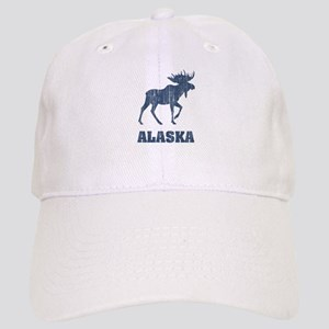 Retro Alaska Moose Cap