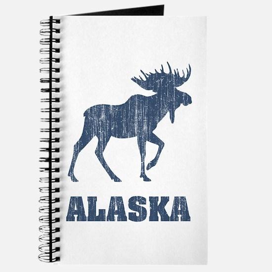 Retro Alaska Moose Journal