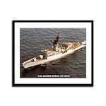 USS JOSEPH HEWES Framed Panel Print