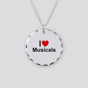 Musicals Necklace Circle Charm