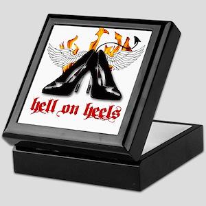 Hell on Heels Keepsake Box