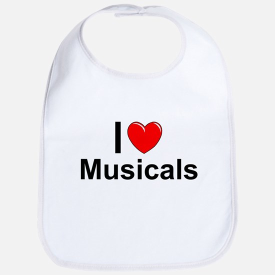 Musicals Cotton Baby Bib