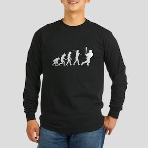 Evolve - Baseball Long Sleeve Dark T-Shirt