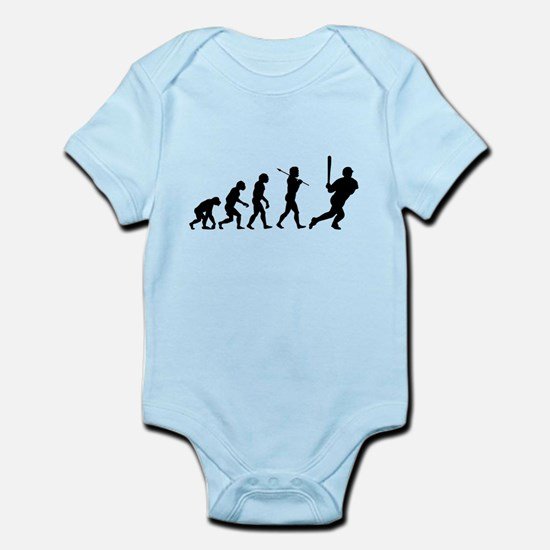 Evolve - Baseball Infant Bodysuit