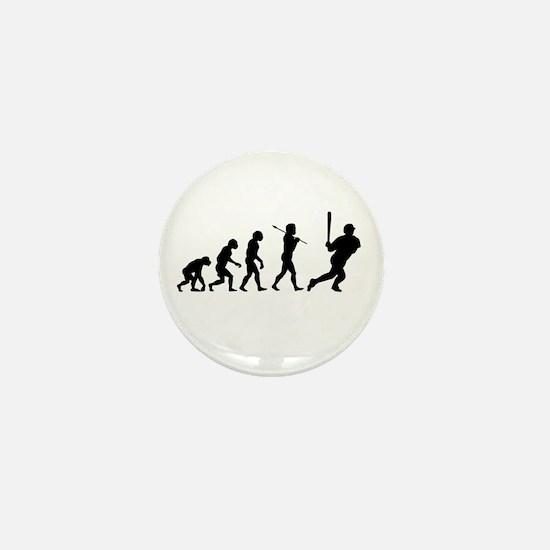 Evolve - Baseball Mini Button