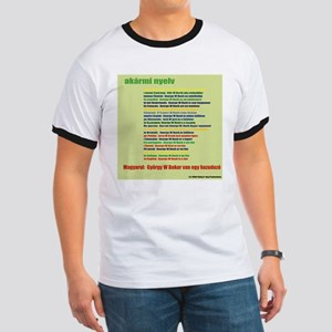 In Any Language - Hungarian Ringer T