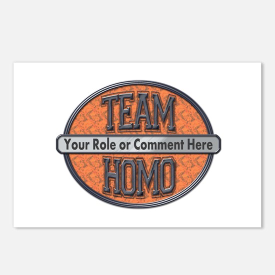 Team Homo (Custom) Postcards (Package of 8)
