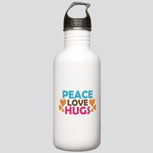 Peace Love Hugs Stainless Water Bottle 1.0L