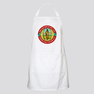 New York Beer Label 1 Apron