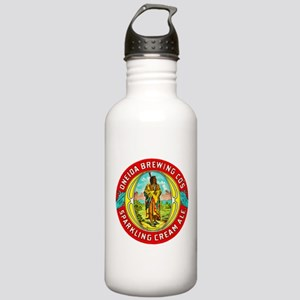 New York Beer Label 1 Stainless Water Bottle 1.0L