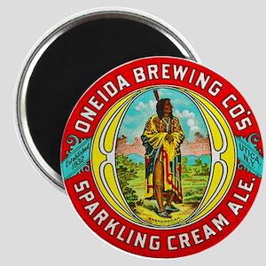 New York Beer Label 1 Magnet