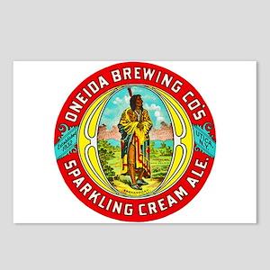 New York Beer Label 1 Postcards (Package of 8)