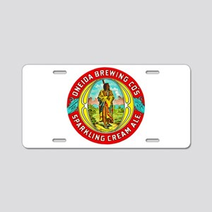 New York Beer Label 1 Aluminum License Plate