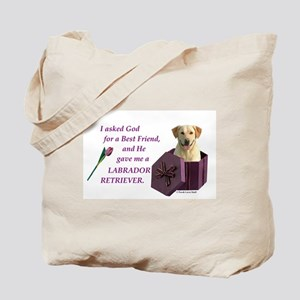 Labrador Retriever (Yellow) Tote Bag