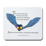 Mousepad; Autism is Treatable
