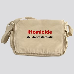 iHomicide by Jerry Banfield Messenger Bag