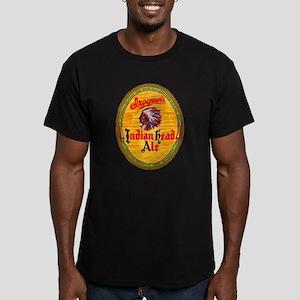 New York Beer Label 4 Men's Fitted T-Shirt (dark)