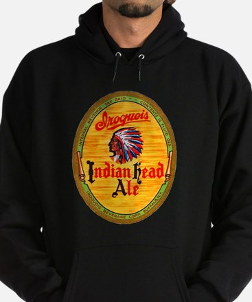 New York Beer Label 4 Hoodie (dark)
