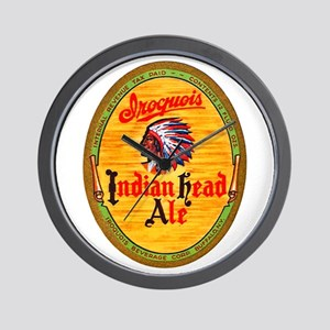 New York Beer Label 4 Wall Clock