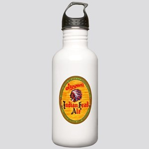 New York Beer Label 4 Stainless Water Bottle 1.0L